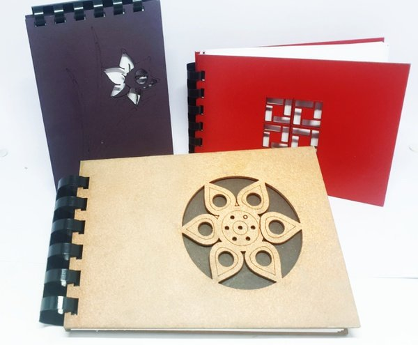 Macian hand crafted note book - a6 picture