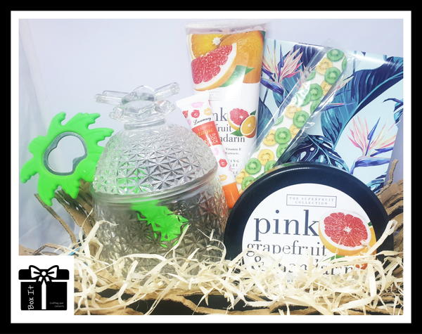 Tropical spa gift box picture