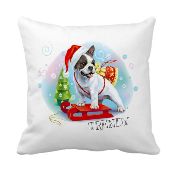 Trendy - happy holiday boston scatter cushion picture