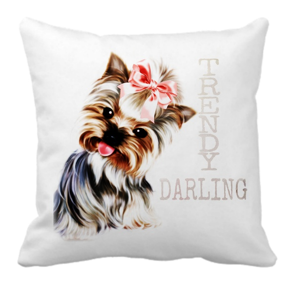 Trendy darling yorkshire terrier casual bag picture