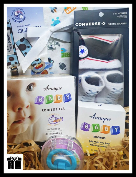 Baby boy fashion gift box picture