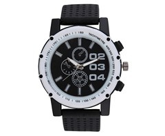 Gents rubber watch picture