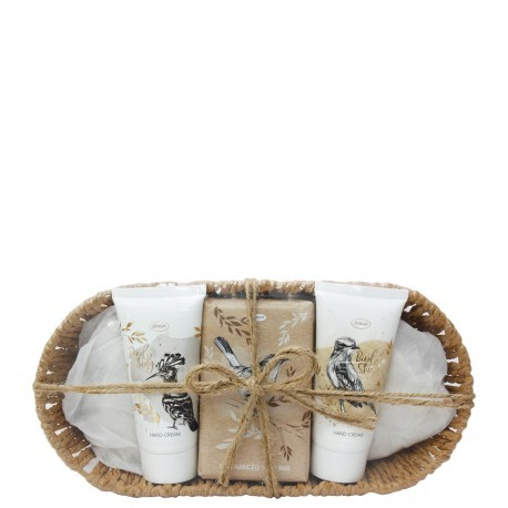 Bird study - bath & body basket giftset picture