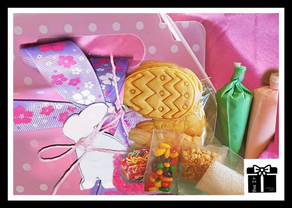 Easter diy cookie activity box picture