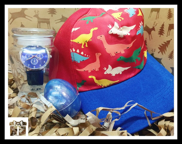 Dino time gift box picture