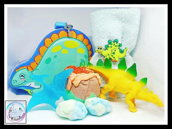 Bath zone dino bath  gift set picture