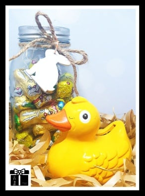 Novelty easter duck gift box picture