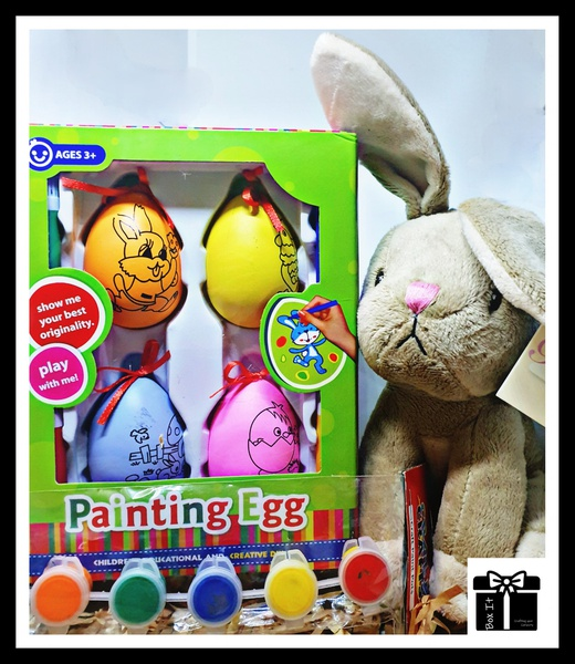 Diy easter egg activity box picture