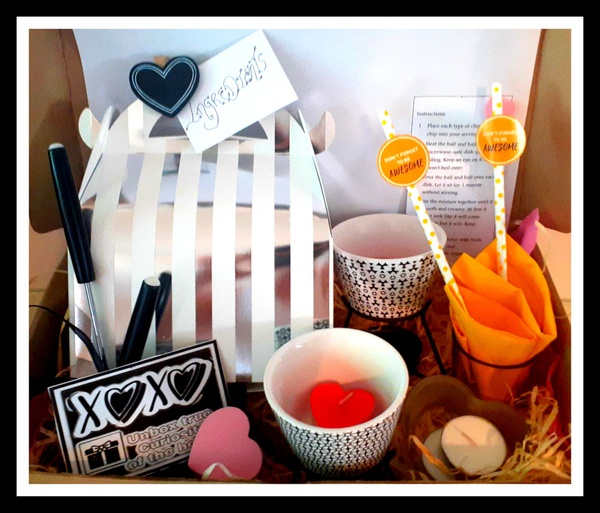Chocolate fondue for two - date night in a box picture