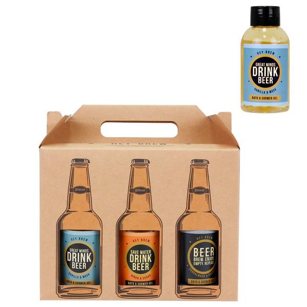 Hey brew bath & shower gel - 6 pack picture