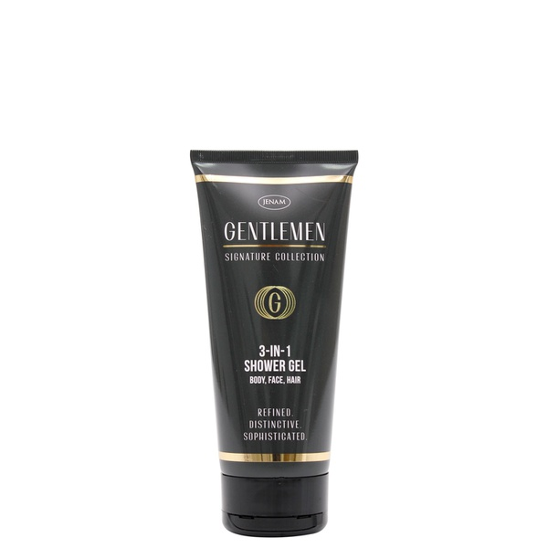 Gentlemens 3 - in - 1 shower gel (body, face & hair) - 200ml picture
