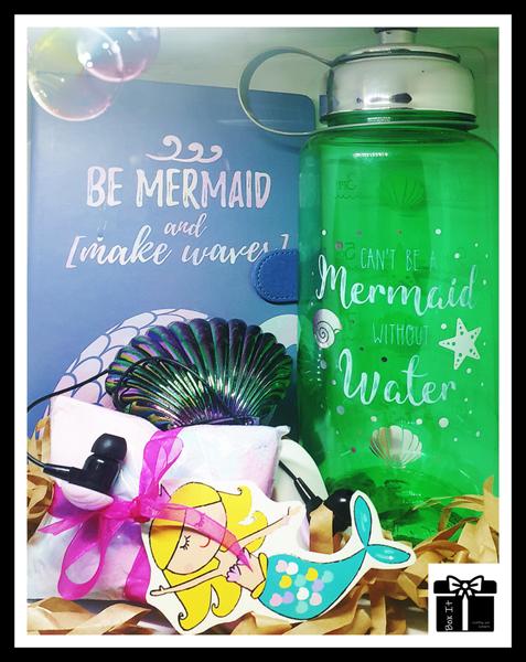 Mermaids in the ocean gift box picture