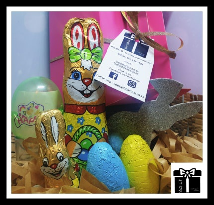 Kiddies easter surprise toy gift box picture