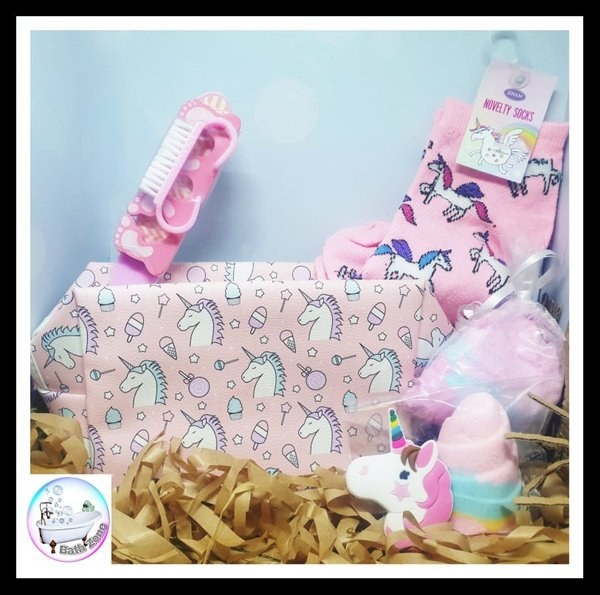 Bath zone magical unicorn teen gift box picture