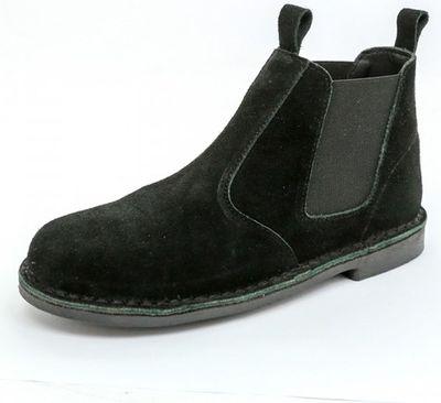 Chelsea black slip-on safari boot picture