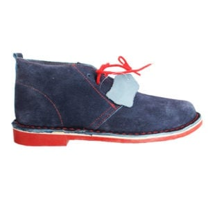 Navy/red boot picture