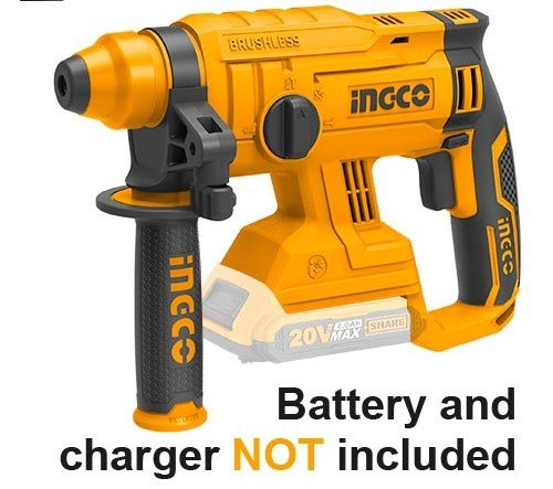 Ing-co rotary hammer 20v li-ion picture