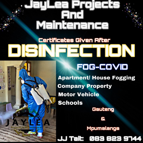 Disinfection Fogging picture