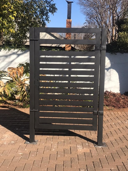 Rectangular Steel Pedestrian/Security Gate picture