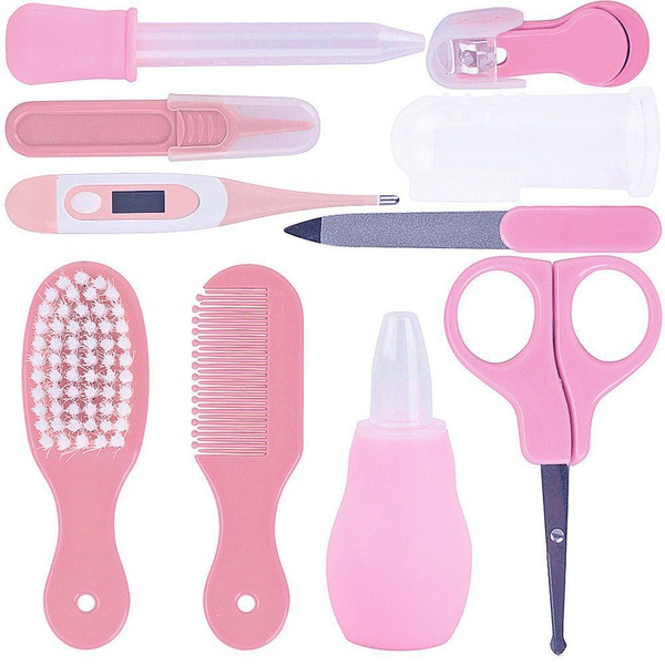 10 in 1 baby care kit - pink picture