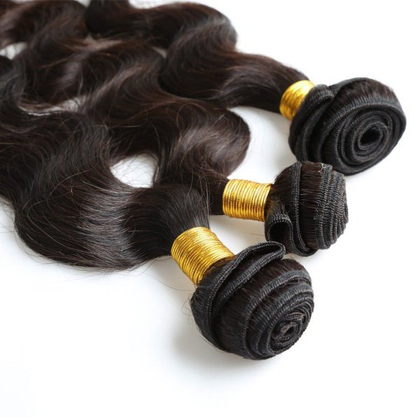 14 inches body wave brazilian hair 3 bundles picture
