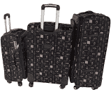 3 piece fashion travel luggage bag set picture