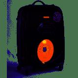 3 piece lightweight luggage set - black picture
