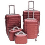 5piece luggage set-abs trolley luggage with universal wheels picture