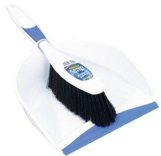 Addis - comfy-grip dust pan set - white picture
