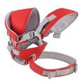 Adjustable multifuctional baby carrier - red picture