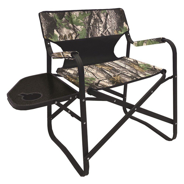 Afritrail directors chair -camo + side table - picture