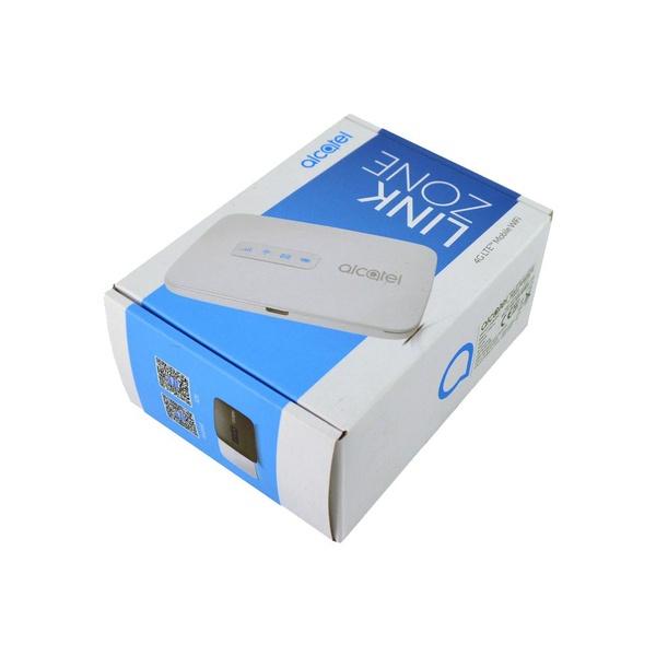 Alcatel linkzone mw40vd 4g/lte mobile wifi modem router - black picture