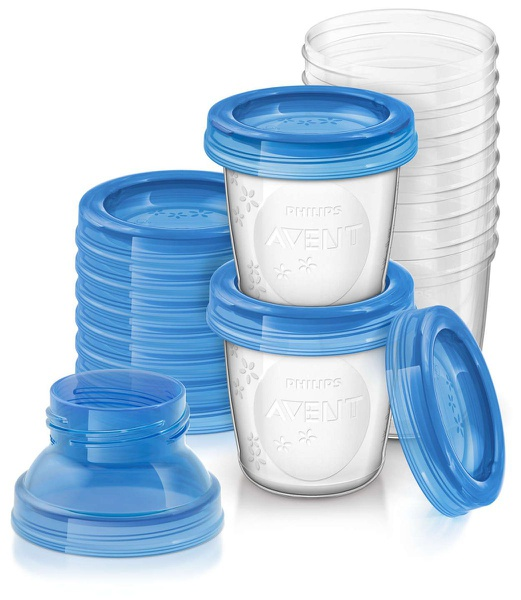 Avent - breastmilk storage cups picture