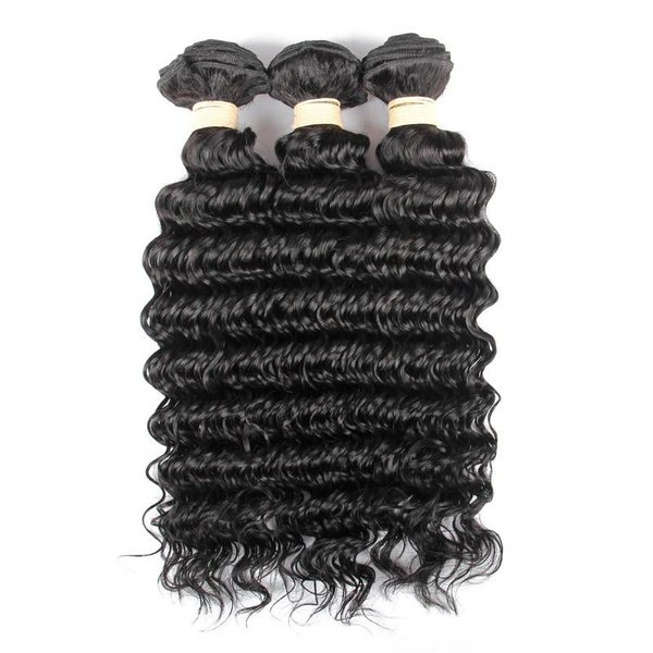 Beau diva 3x bundles 12 inches peruvian deep wave weave package picture