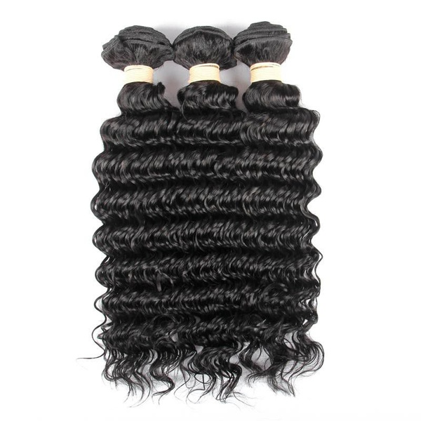 Beau diva 3x bundles 14 inches peruvian deep wave weave package picture