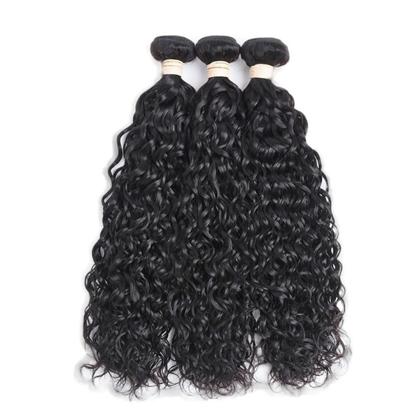 Beau diva 3x bundles 20 inches brazilian water wave weaves package picture