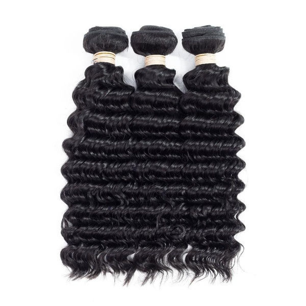 Beau diva deep water 20 inches x3 brazilian weaves and free closure picture
