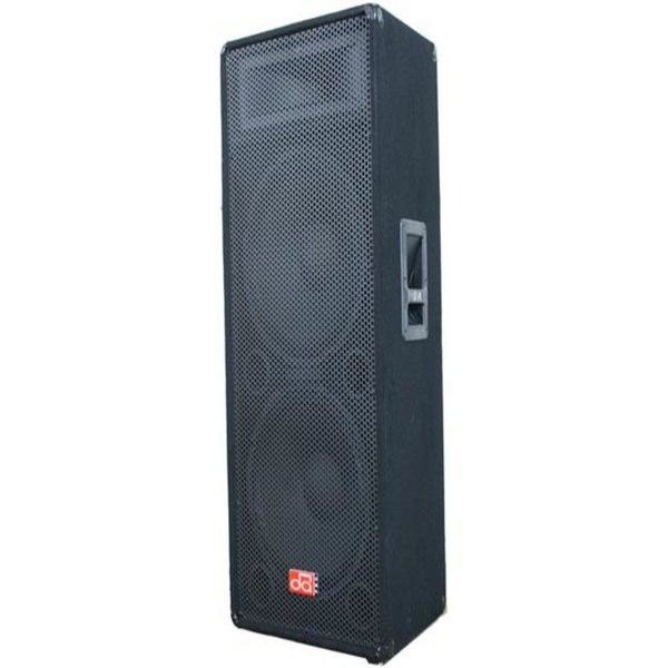 """Cabinet speaker 15"""" dual 600w 4ohm carpeted picture"""