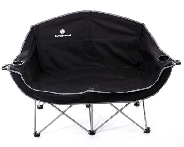 Campground love seat style double camping chair picture