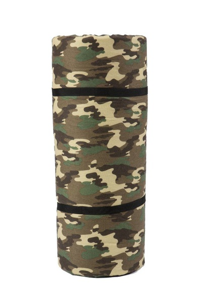 Camping hiking single roll up matt for adults with cover picture
