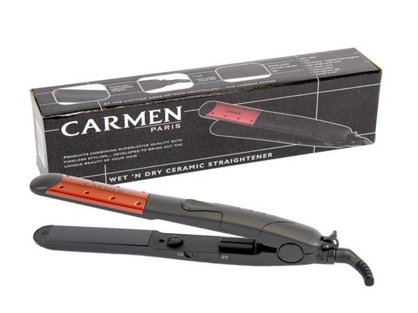 Carmen wet & dry ceramic straightener picture