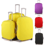 Colorful luggage travel protector suitcases cover trolley suitcases babs black dustproof picture