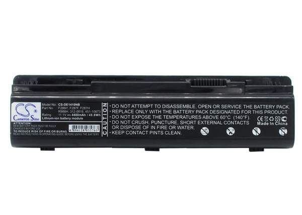 Dell inspiron vostro 1014n battery picture
