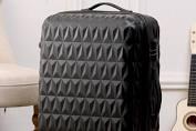 Diamond design 3-piece luggage set picture