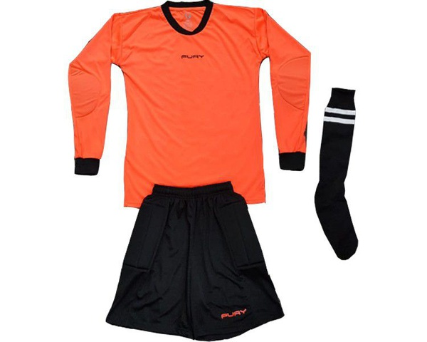 Fury cosmos soccer kit combo - senior - maroon/white picture