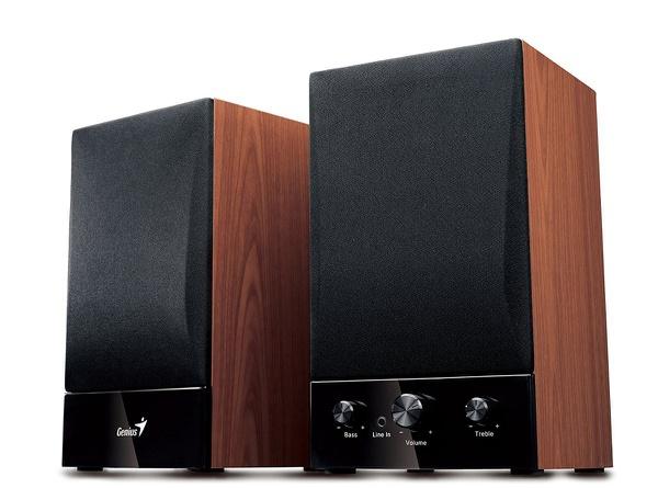 Genius 2.1 channel hi fi speaker system picture