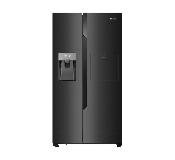 Hisense 535 l side-by-side fridge/freezer with water and ice dispenser picture