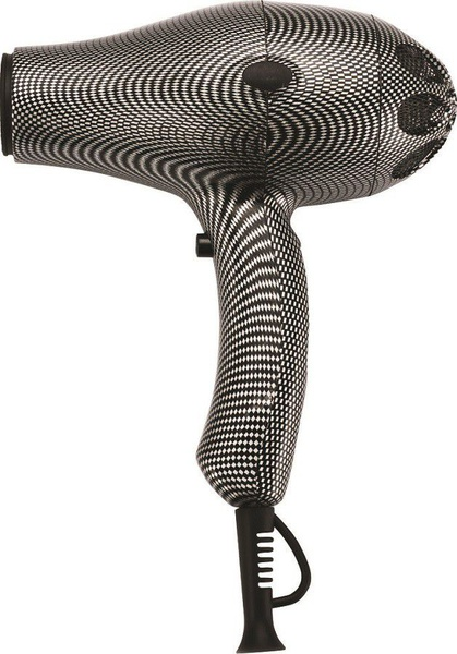 Heat turbo 3900 hairdryer - silver carbon fibre picture