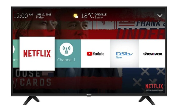 """Hisense 65"""" uhd smart tv with hdr and digital tuner picture"""