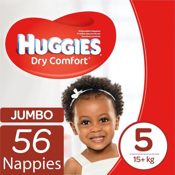 Huggies - dry comfort - size 5 junior 56 jumbo pack picture